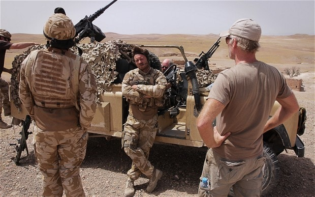 A new British film depicts the realities of life in Afghanistan. But getting it made was a battle in itself - THE TELEGRAPH