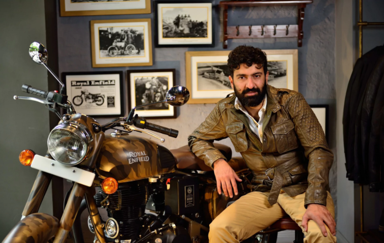 Meet the man bringing Royal Enfield back to the UK, and setting his sights on world domination - THE TELEGRAPH