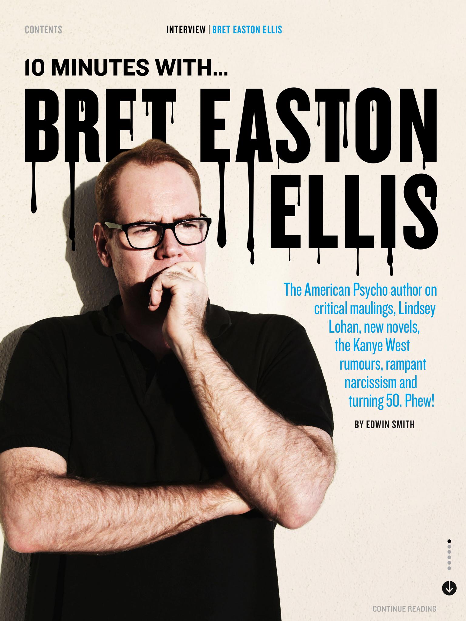 Bret Easton Ellis interview - Esquire