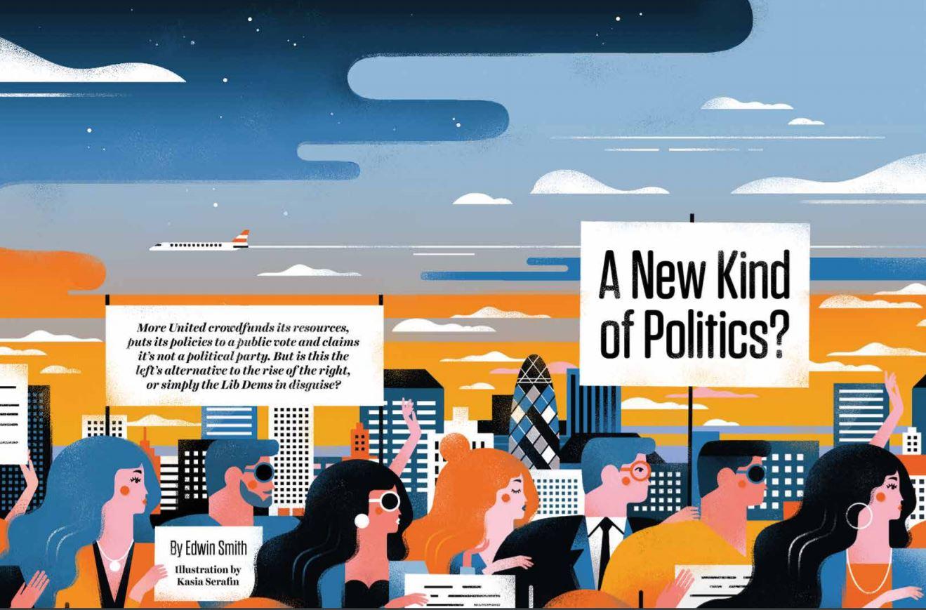 More United: A new kind of politics? - The Jackal