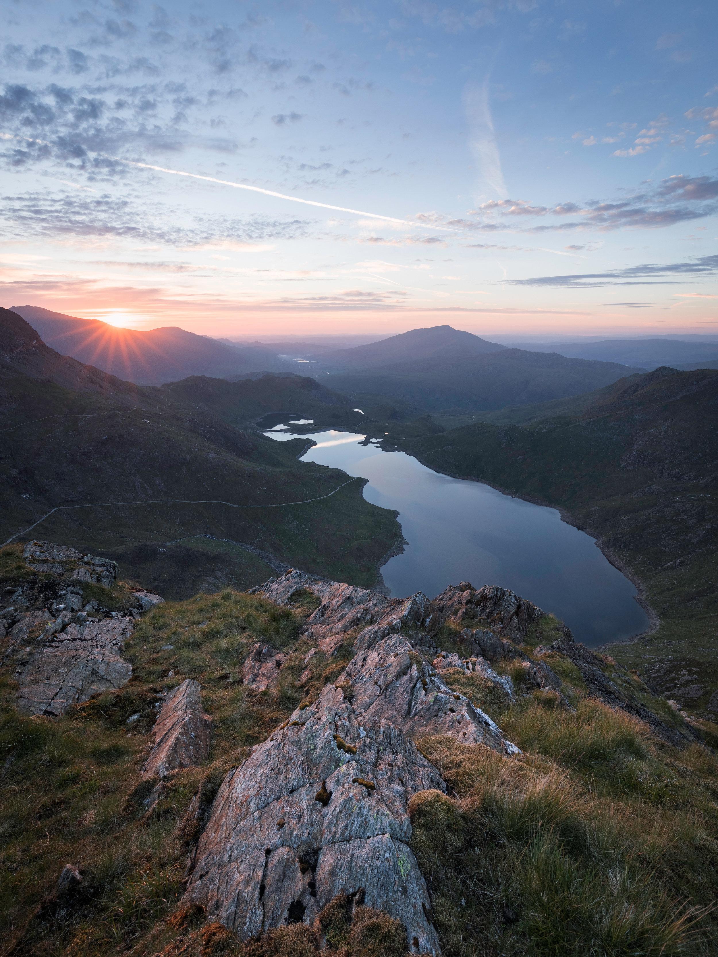 Llyn Llydaw Sunrise