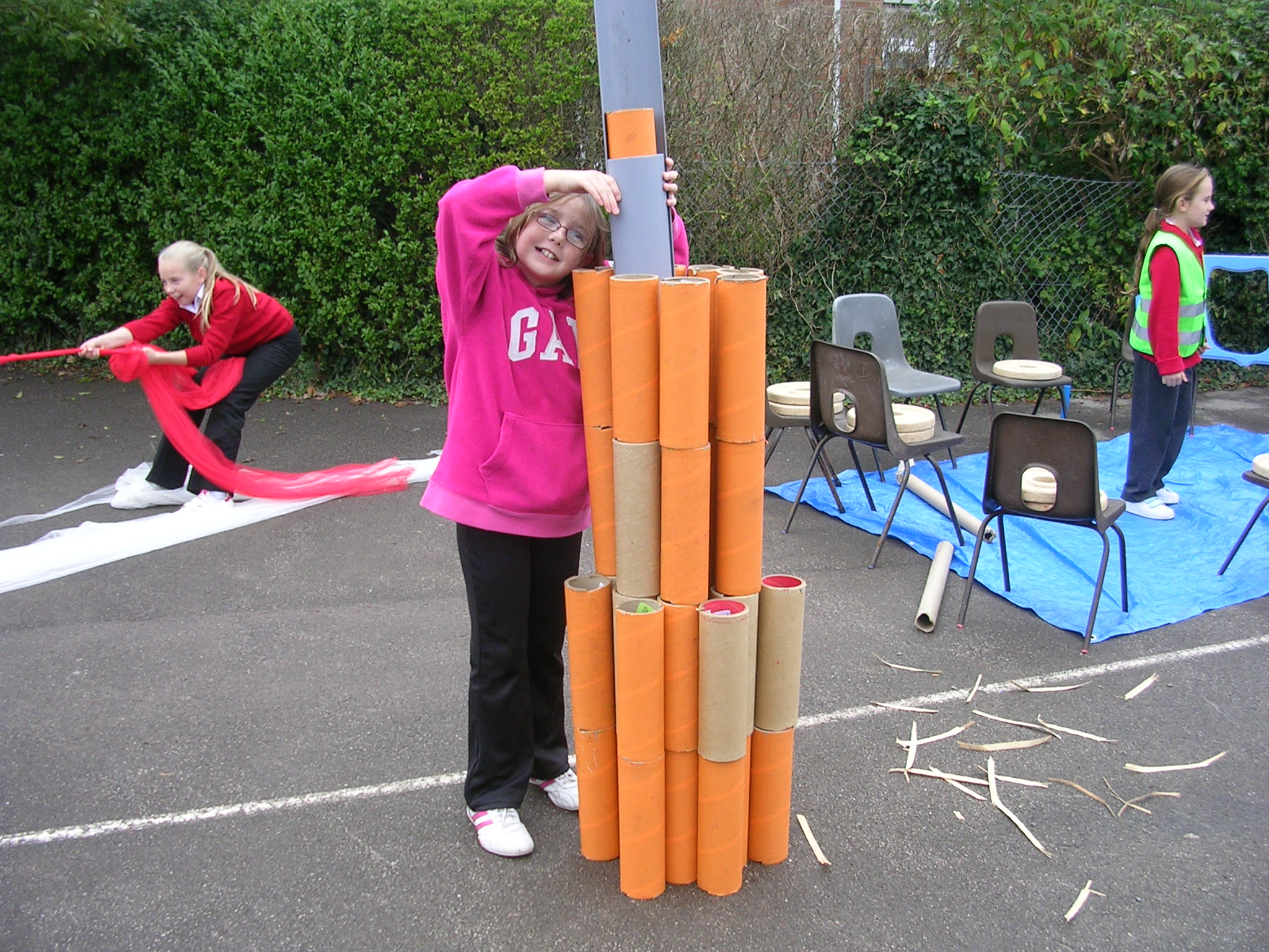 Great for building structures, developing resilience, problem solving and understanding properties of materials.