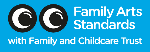 Children's Scrapstore has met the Family Arts Standards, a UK-wide recognised quality-mark demonstrating excellence in family provision.