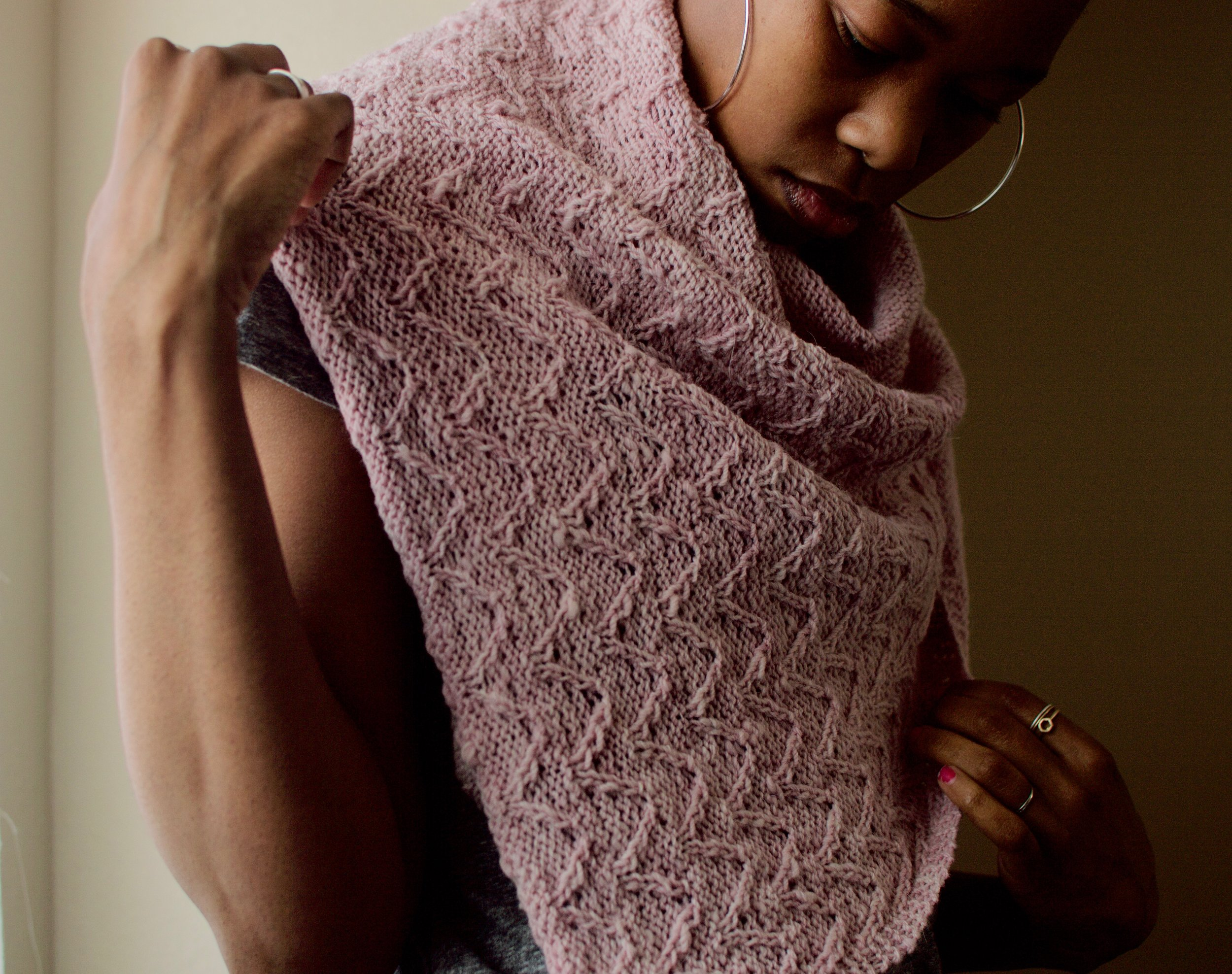 Get Dawn's Retreat Shawl Pattern now on her Ravelry page!
