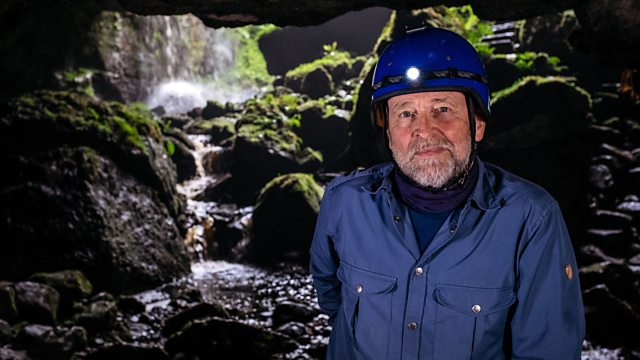 Episode 1 - Dwellings   Cormac Ó hÁdhmaill explores the fabled sea caves of the Antrim Coast and Rathlin island, and travels to the mystical Pollnagollum Cave in Fermanagh, an early Victorian precursor to the Marble Arch showcaves.