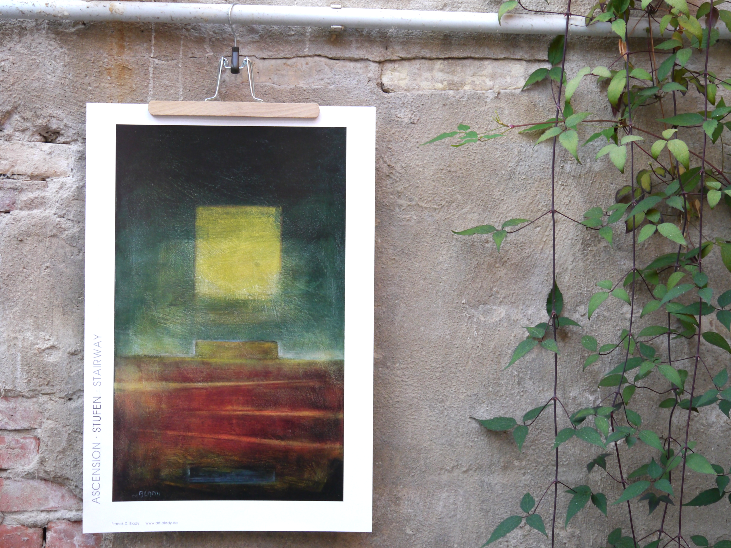 Stufen -                                                   Plakat, 62 x 42 cm, 29 Euro.                                                  Shop now