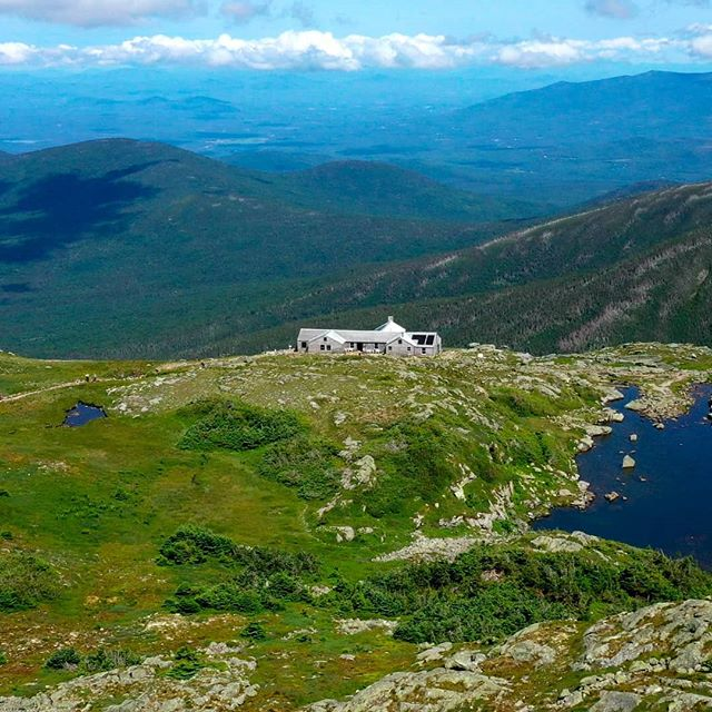 On Storied Runs: Homecoming (1 of 3). . . . Lakes Of The Clouds Hut
