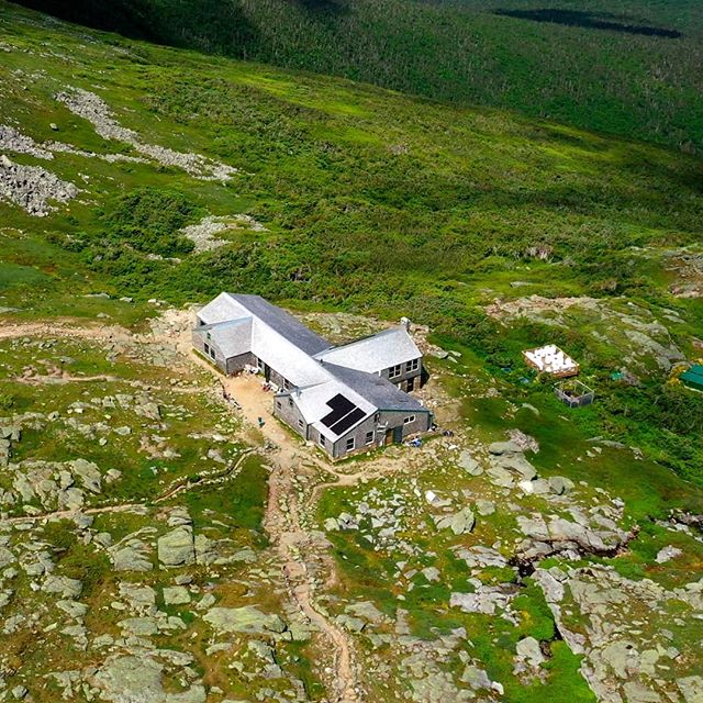 On Storied Runs: Homecoming (3 of 3). . . Lakes Of The Clouds Hut.
