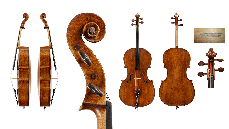 Antonio Stradivari cello, Cremona, 1673