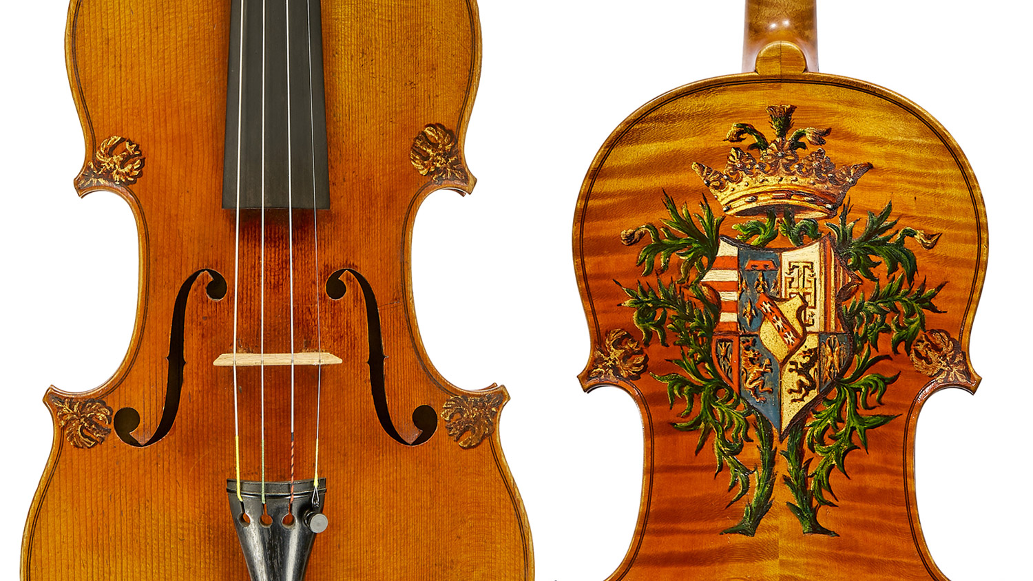 Pierre Charles Jacquot violin 1888