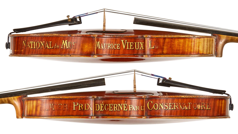 Caressa & Français Firm violin, 1902