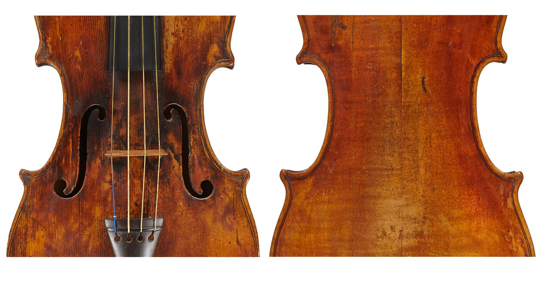 Carlo Annibale Tononi violin