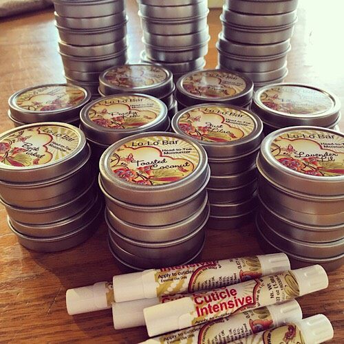 Lo-Lo Bars - There's nothing as effective as a lotion bar for keeping your hands smooth and snag-free, and when I ordered I had spring and summer scents in mind!