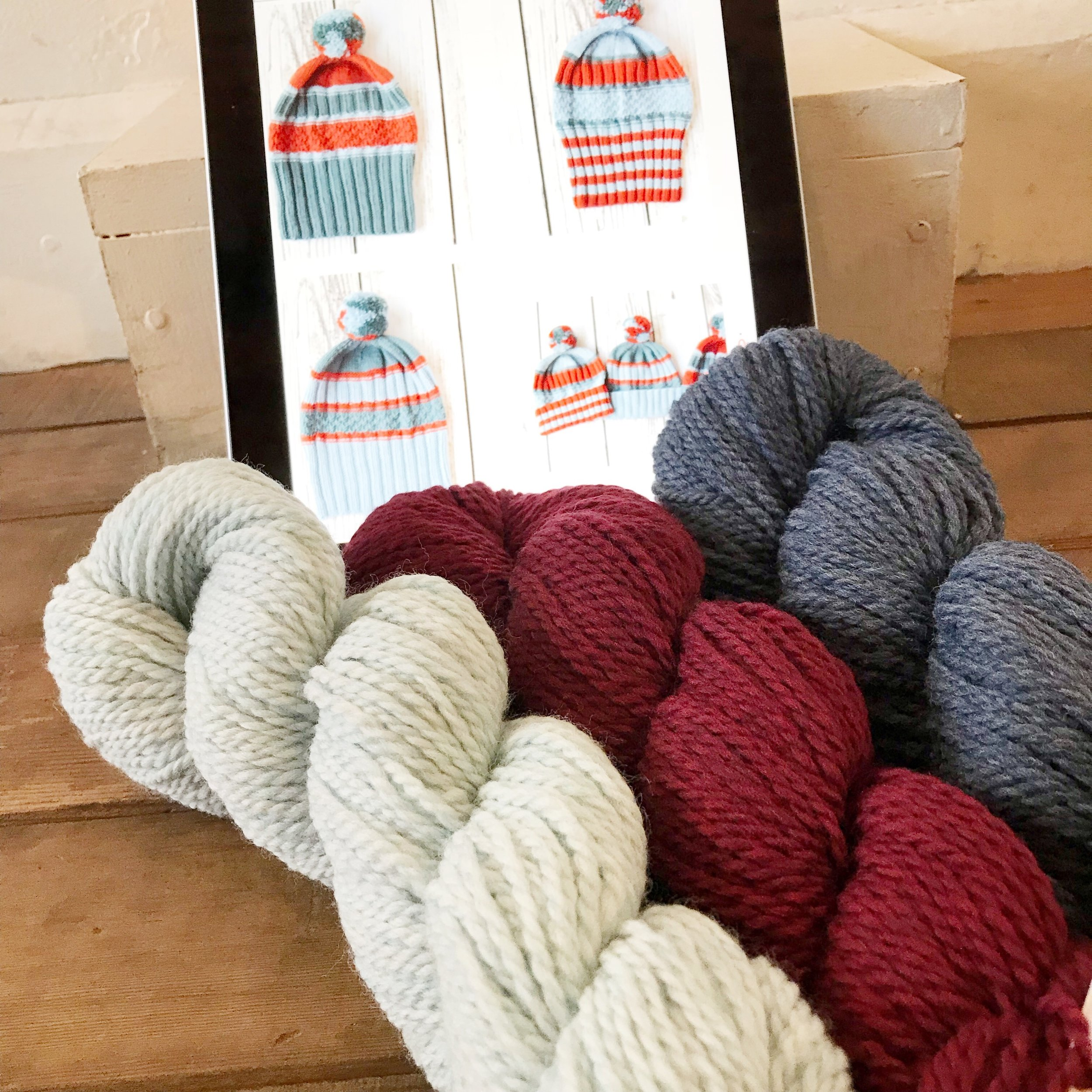 Yarn combo for Susan B. Anderson's  Hiking Hat ?