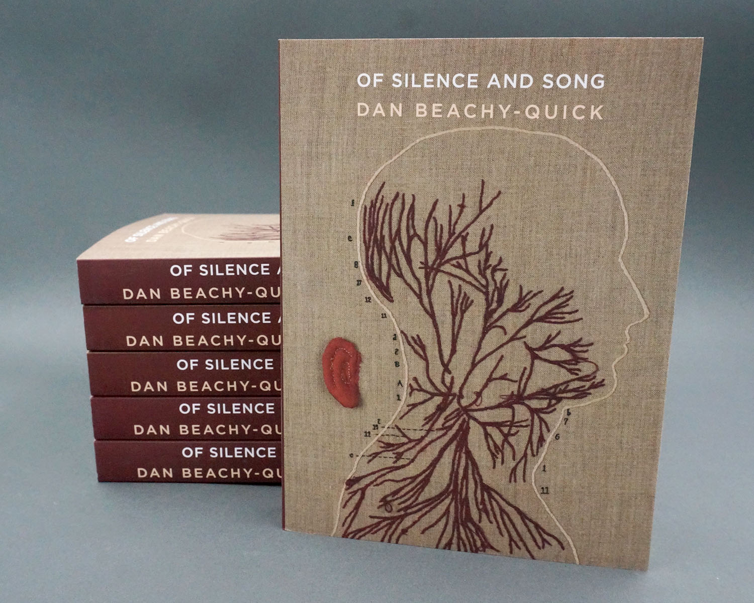Of Silence and Song  by Dan Beachy-Quick. 320 pages. Published 2017.