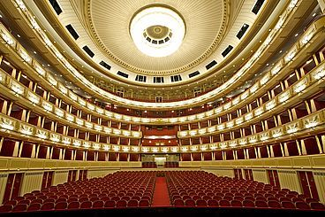 Wiener Staatsoper, Austria - The State Opera Vienna is a public opera and ballet company located in Vienna. It is one of the most prestigious operas in the world, and one of the first cultural institutions in the Austrian capital.