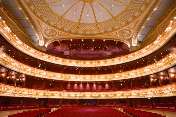 Royal Opera House, London - The Royal Opera House is an opera house and an art venue in London. It is also sometimes referred to as Covent Garden, the neighborhood where it is located. The building is home to the Royal Opera, the Royal Ballet and the Royal Opera House Orchestra.