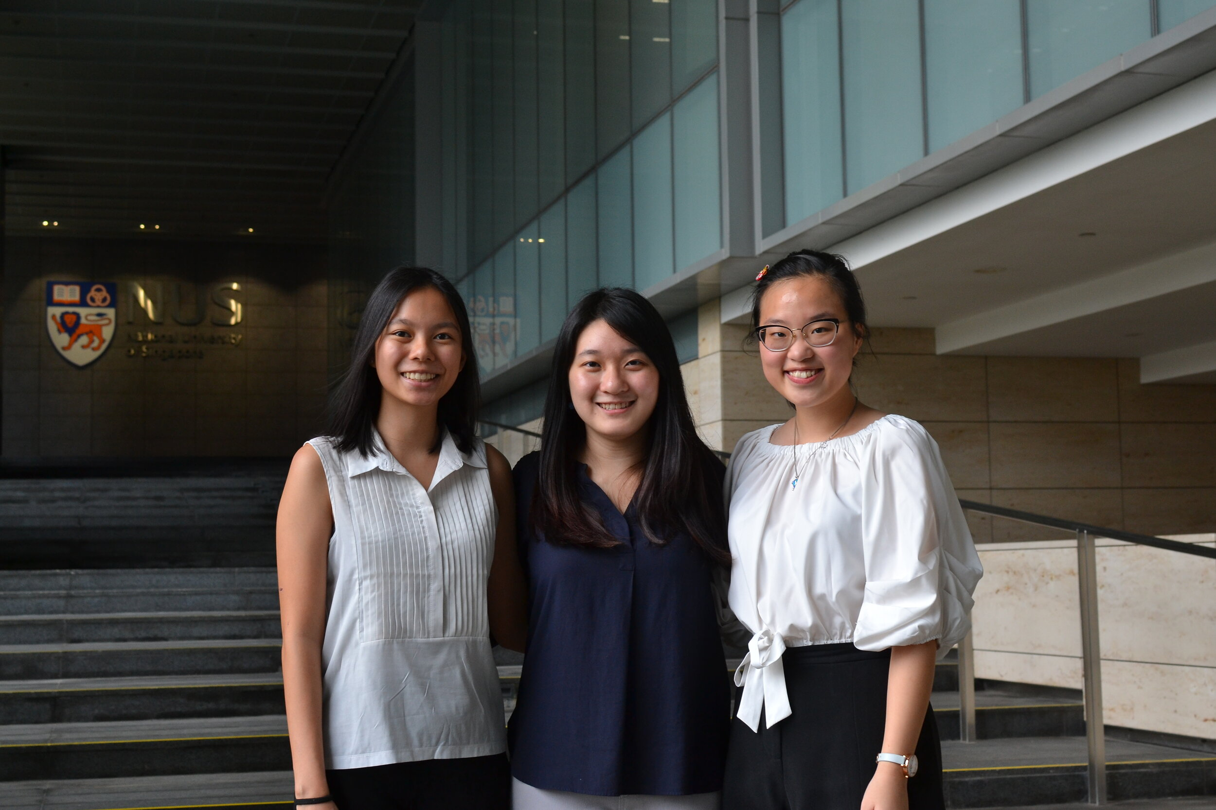 From left to right: Gwyneth Kong (Co-Director), Goh Yi Man (Co-director), Lim Kia Teng (Co-director)