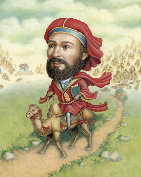 Marco Polo, Lives of the Explorers