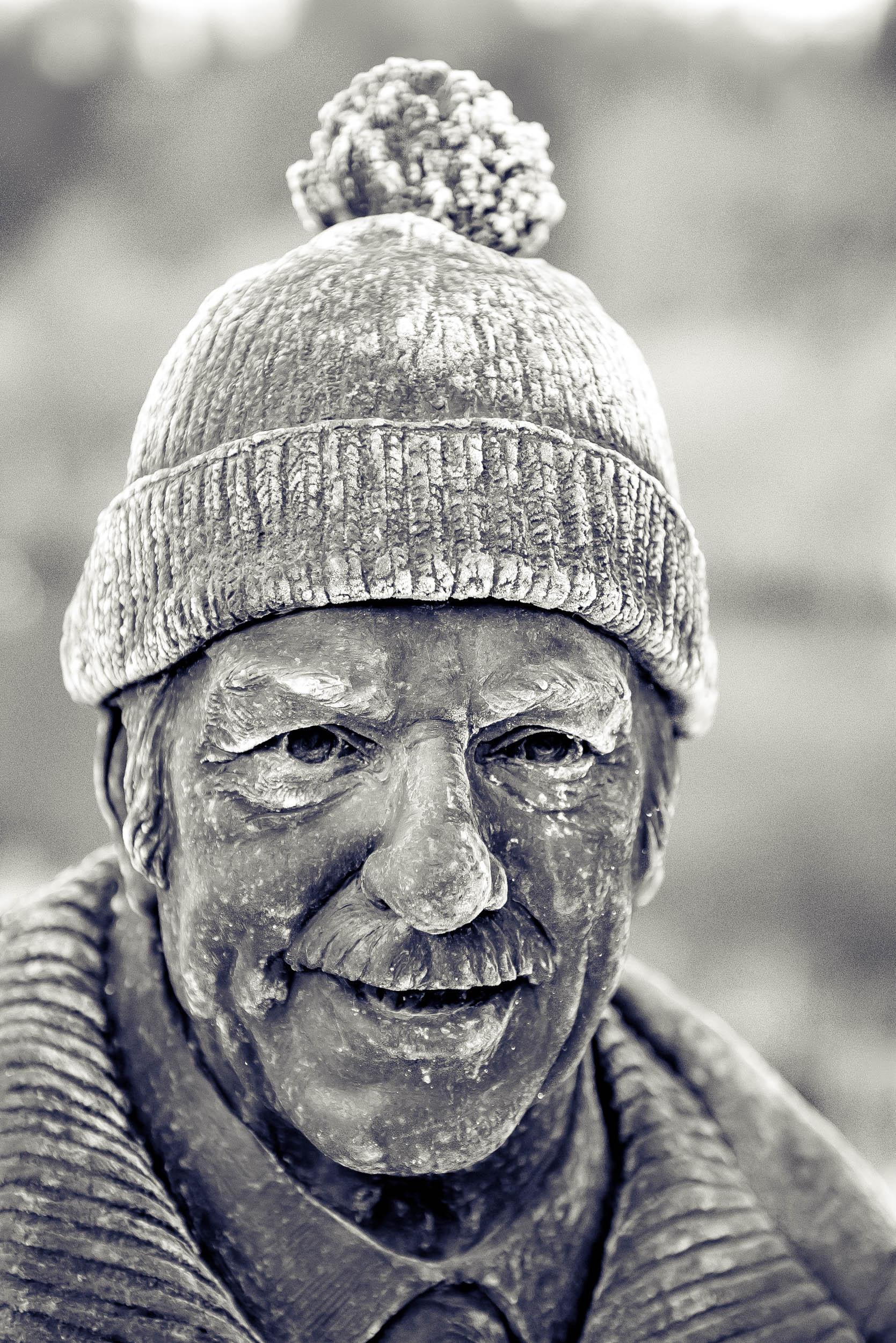 Tom Weir Statue, Balmaha, Loch Lomond