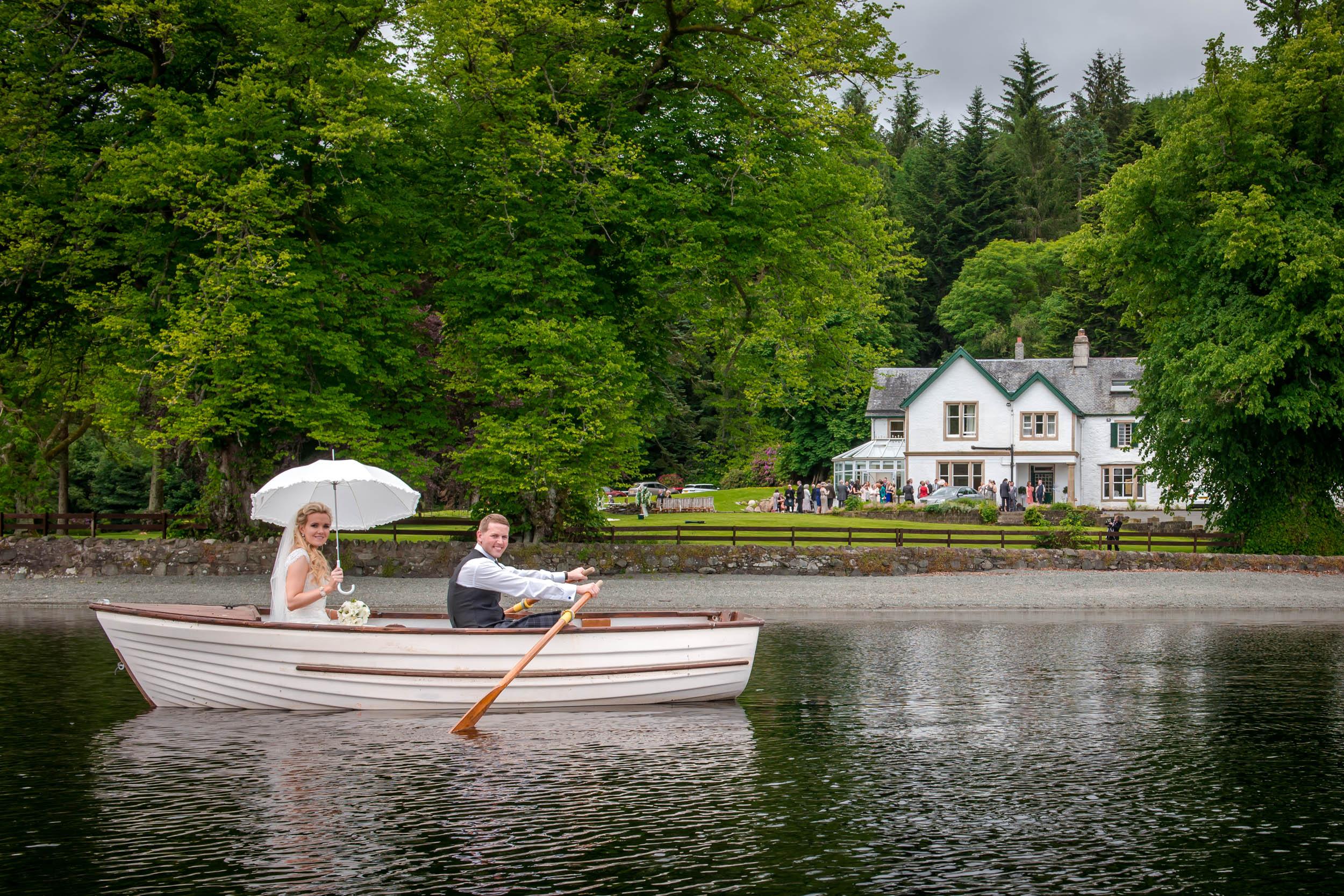Wedding Photography, Altskeith House, Loch Ard