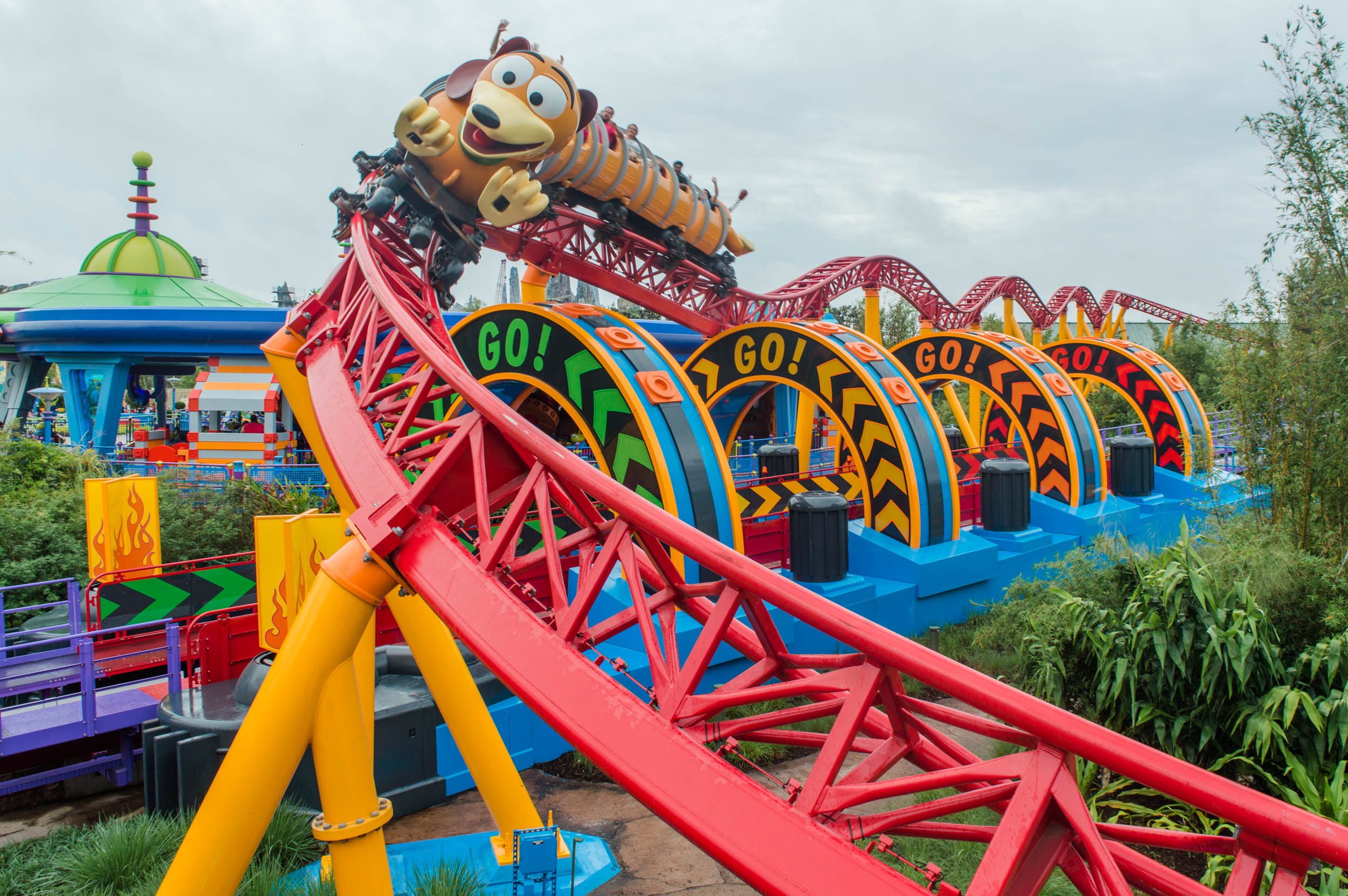Slinky Dog Run, Toy Story Land, Hollywood Studios