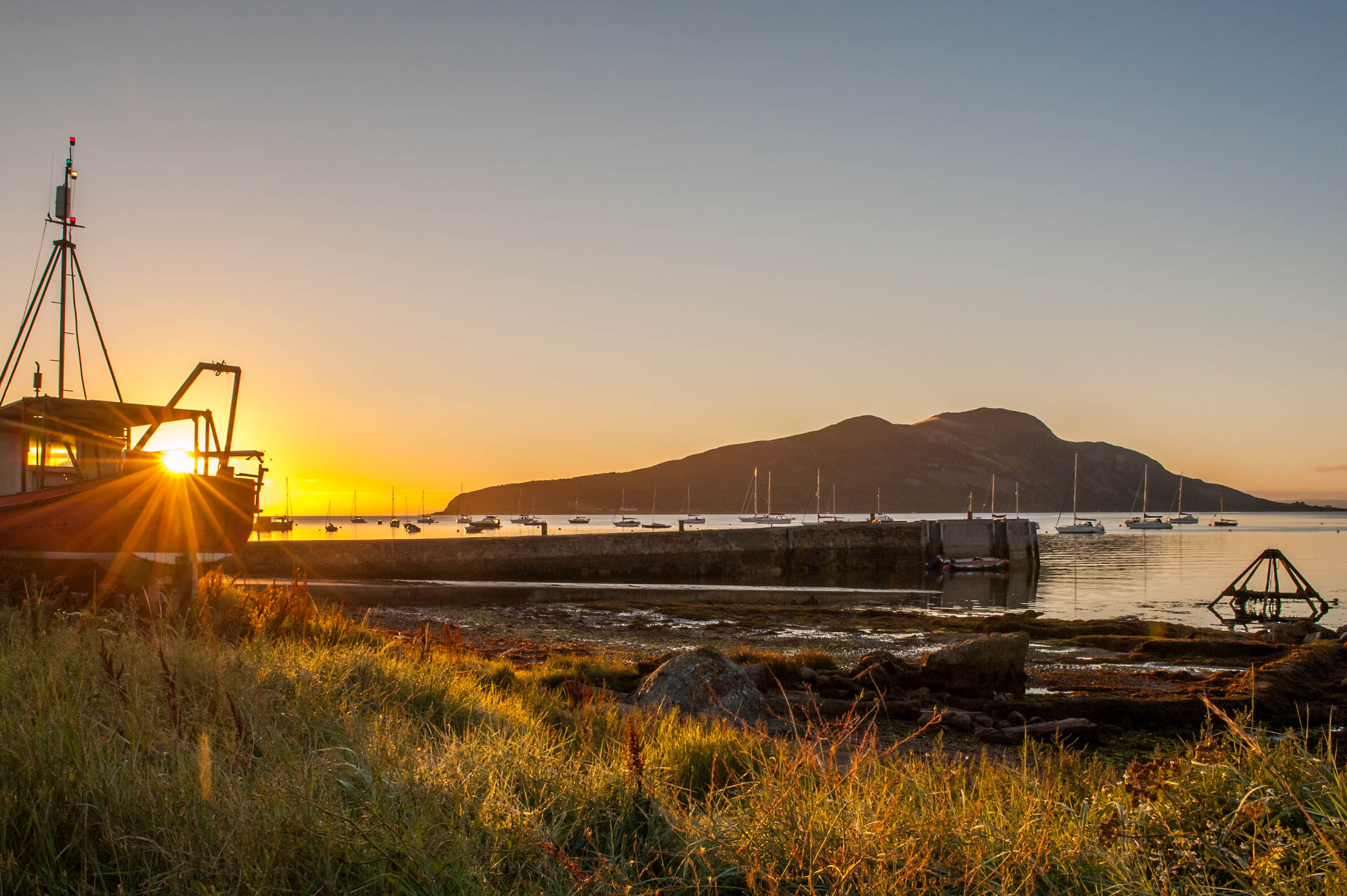 Sunrise in Lamlash, Arran