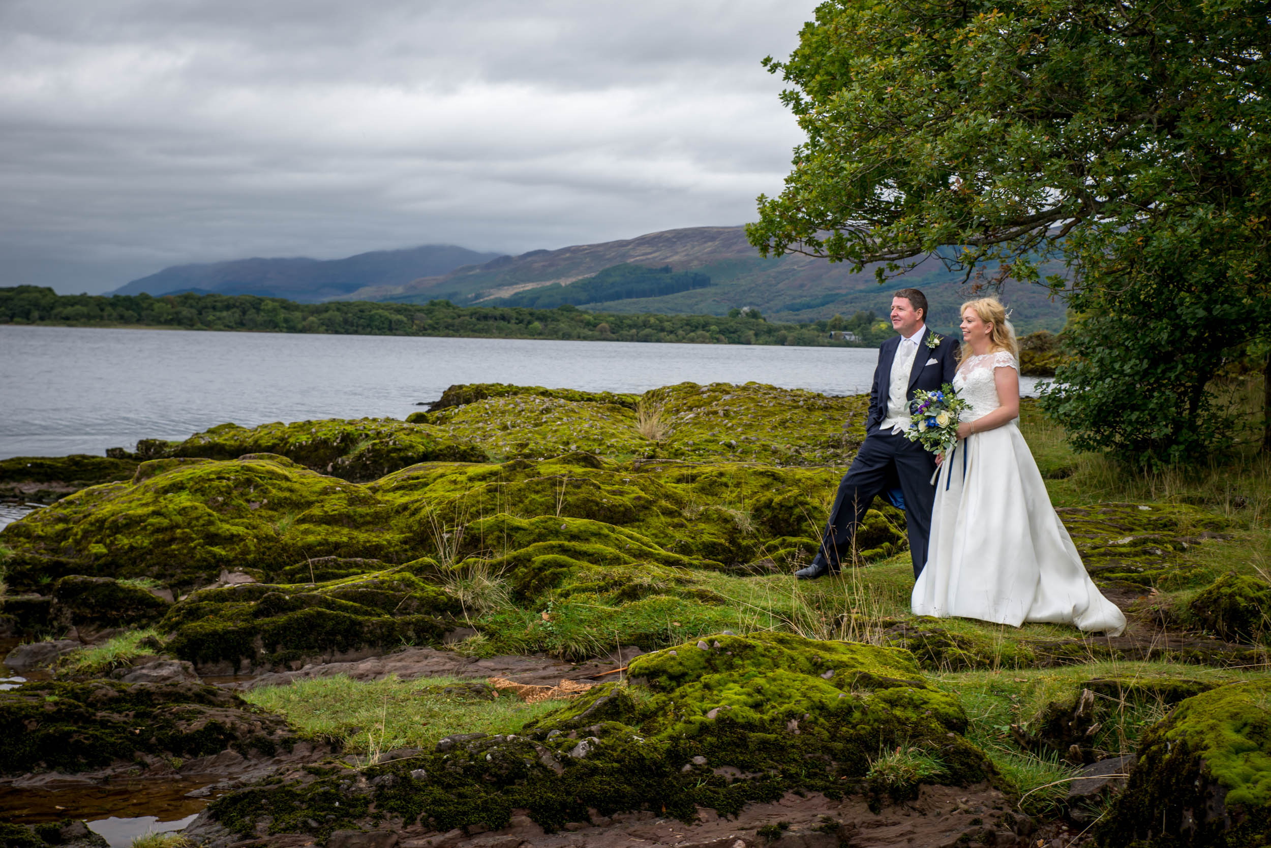 Wedding Photography at Rowardennan