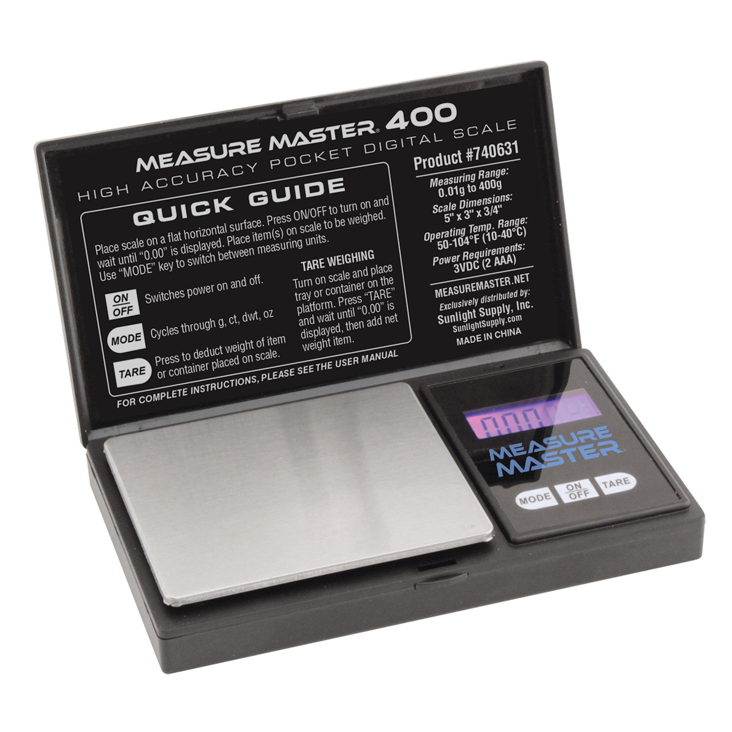 Liquid and Weight Measurement
