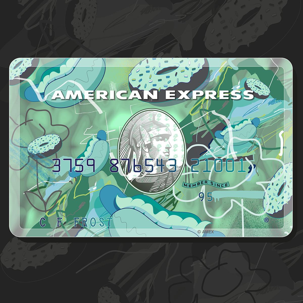 AMEX: Green card
