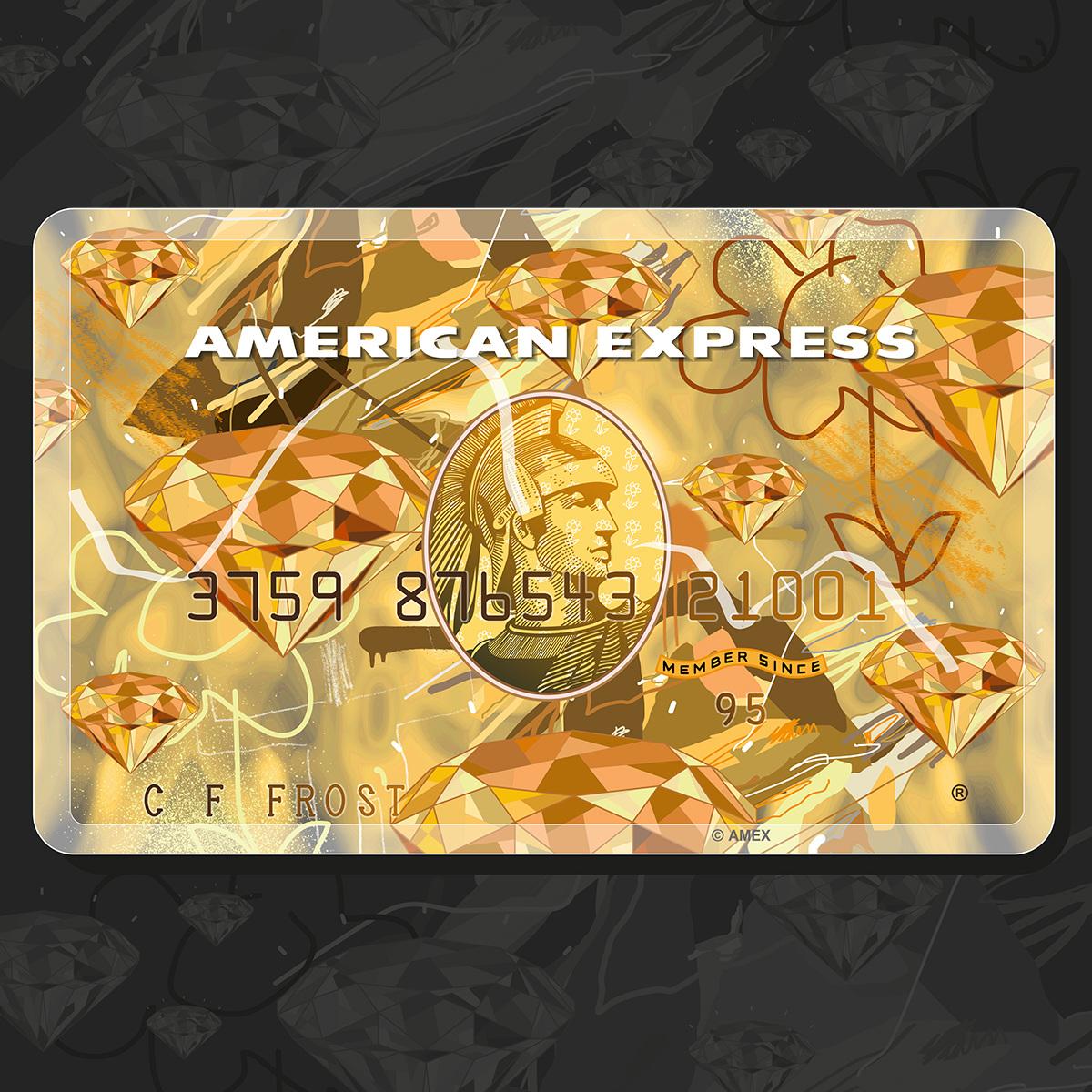 AMEX: Gold card