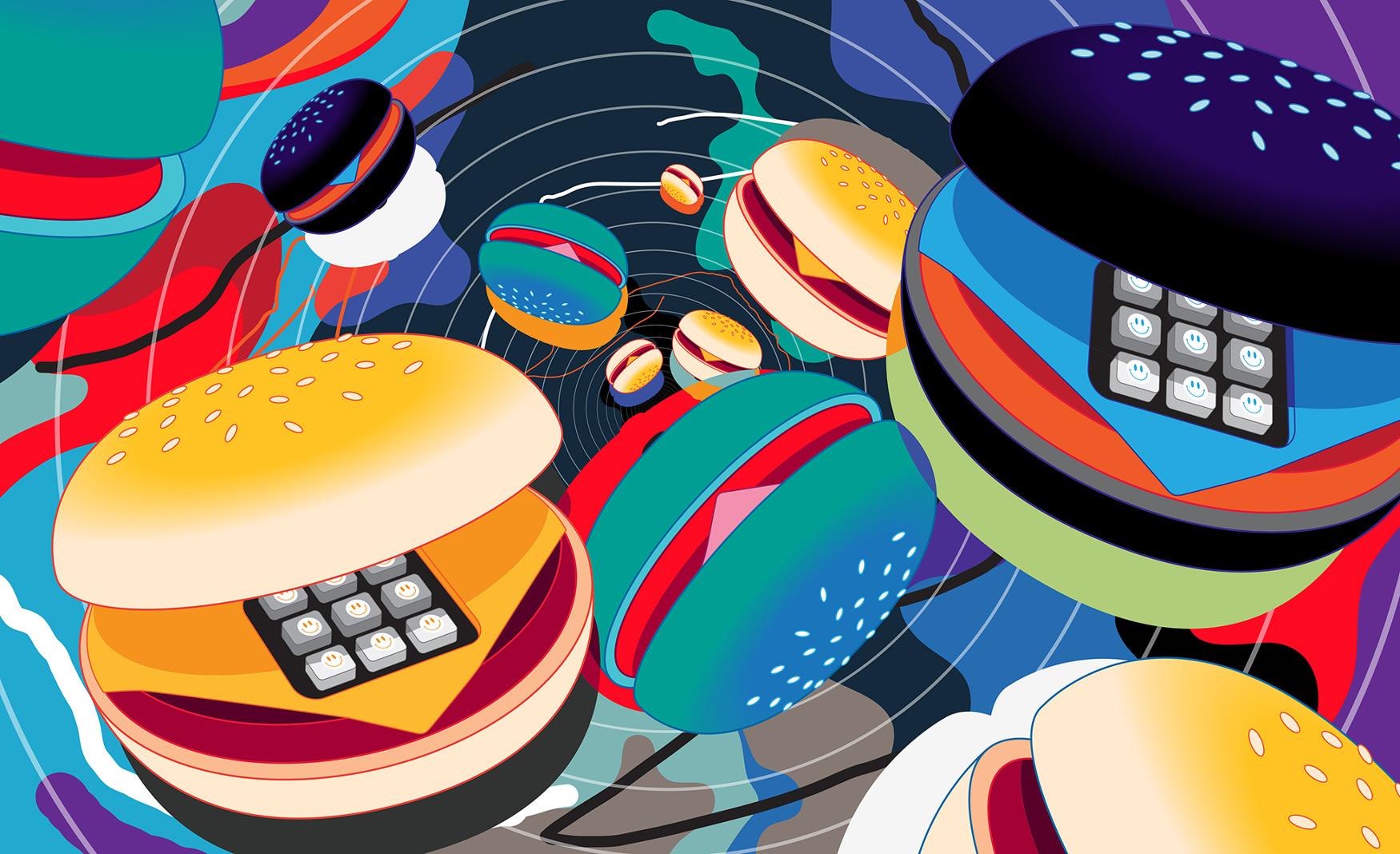 Burger Phones