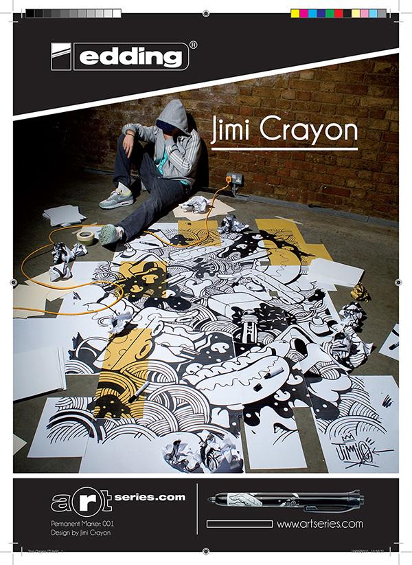 Edding, Jimi Crayon poster