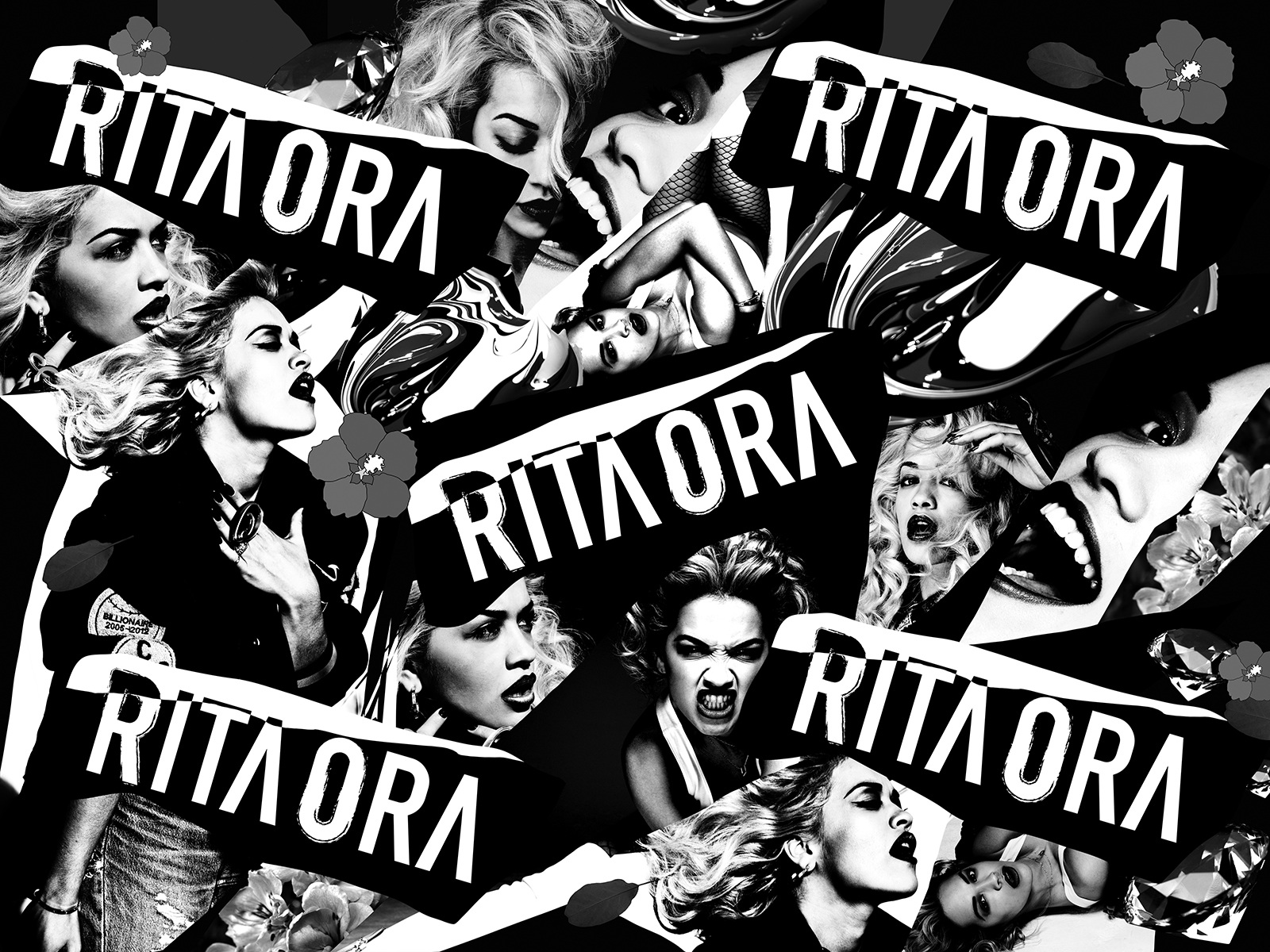 Rita Ora festival backdrop