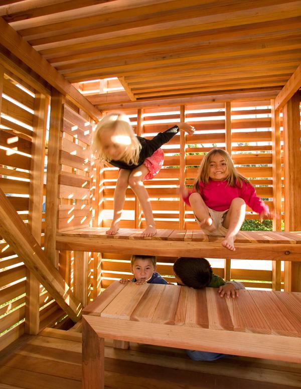 modern playhouse - cube design research