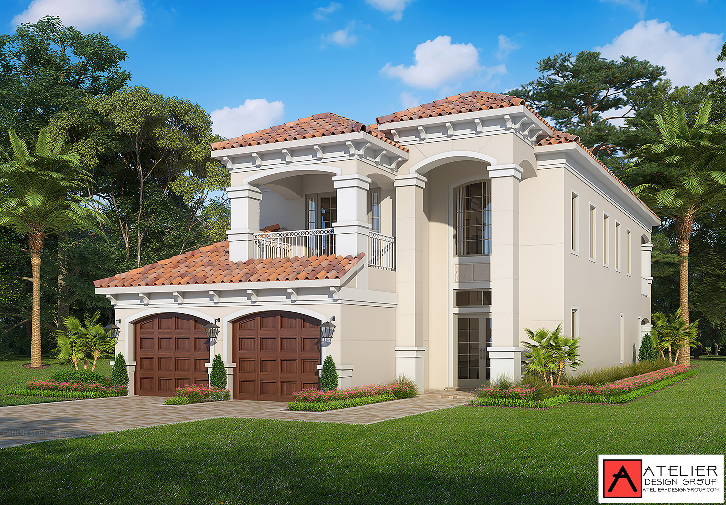 Atelier Design Group is working on a new and exciting project. Marina del Palma Yacht Club is a private gated community situated along the Intracoastal Waterway in Palm Coast, Florida. The Calisto Model.