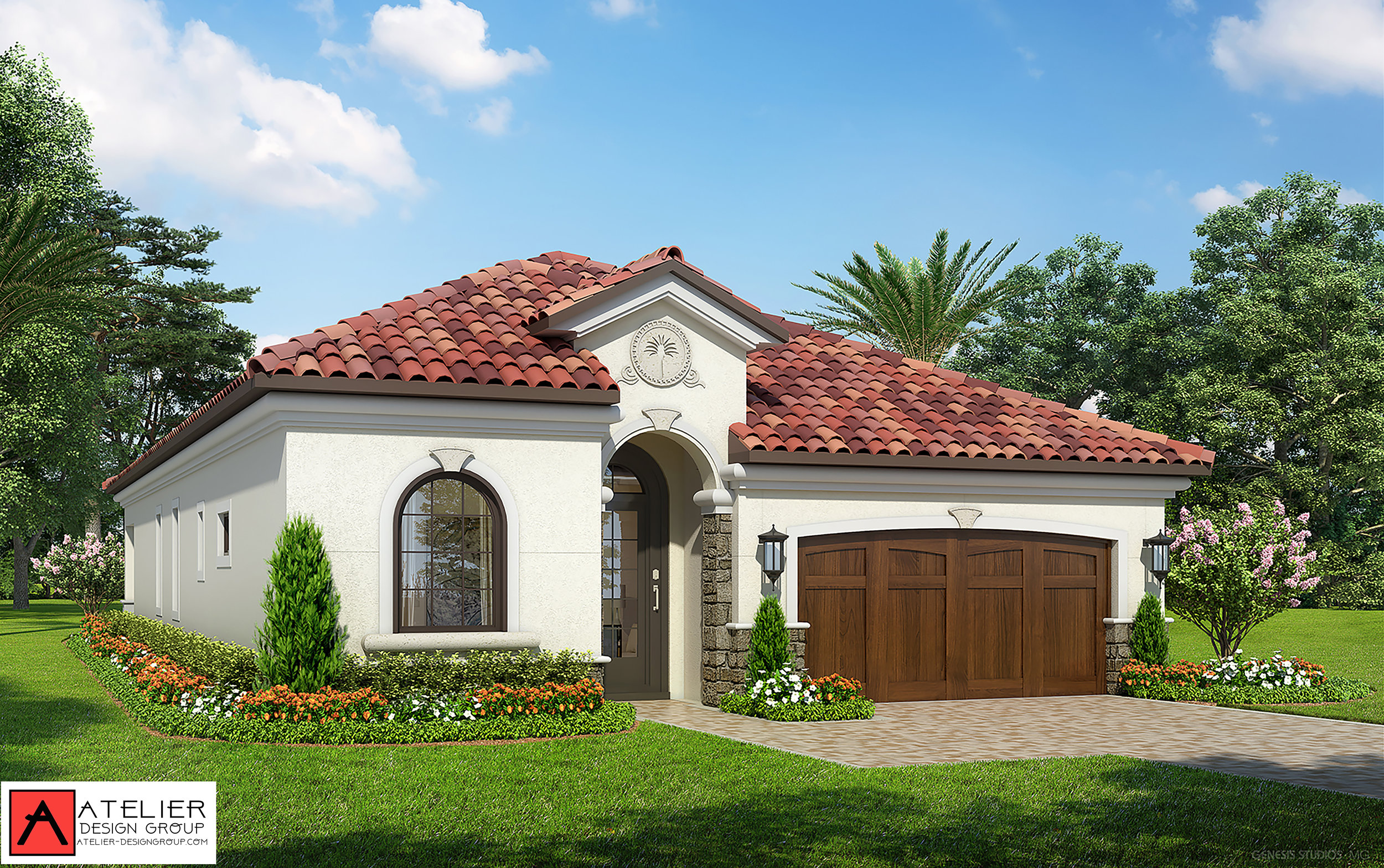 Atelier Design Group is working on a new and exciting project. Marina del Palma Yacht Club is a private gated community situated along the Intracoastal Waterway in Palm Coast, Florida. The Marina Model.