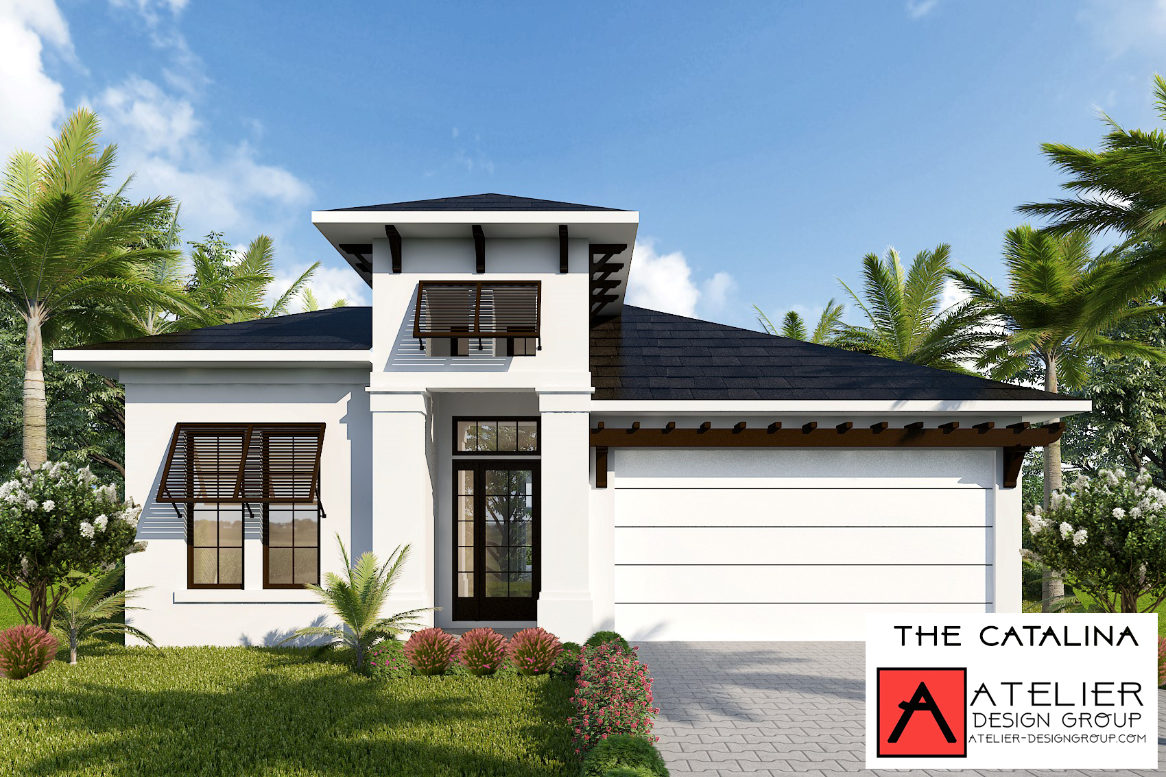 Atelier Design Group is the designer of The Catalina model home for Showcase Community, Marina Del Palma, during this year's Parade of Homes! We have also designed four other models for this wonderful new community. The parade runs from March 23rd - March 31st.  #paradeofhomes ,  #flaglerhba   #HBA  #marinadelpalma   #PalmCoast   #flaglerbeach  #customehome   #atelierdesigngroup  — at  Atelier Design Group .