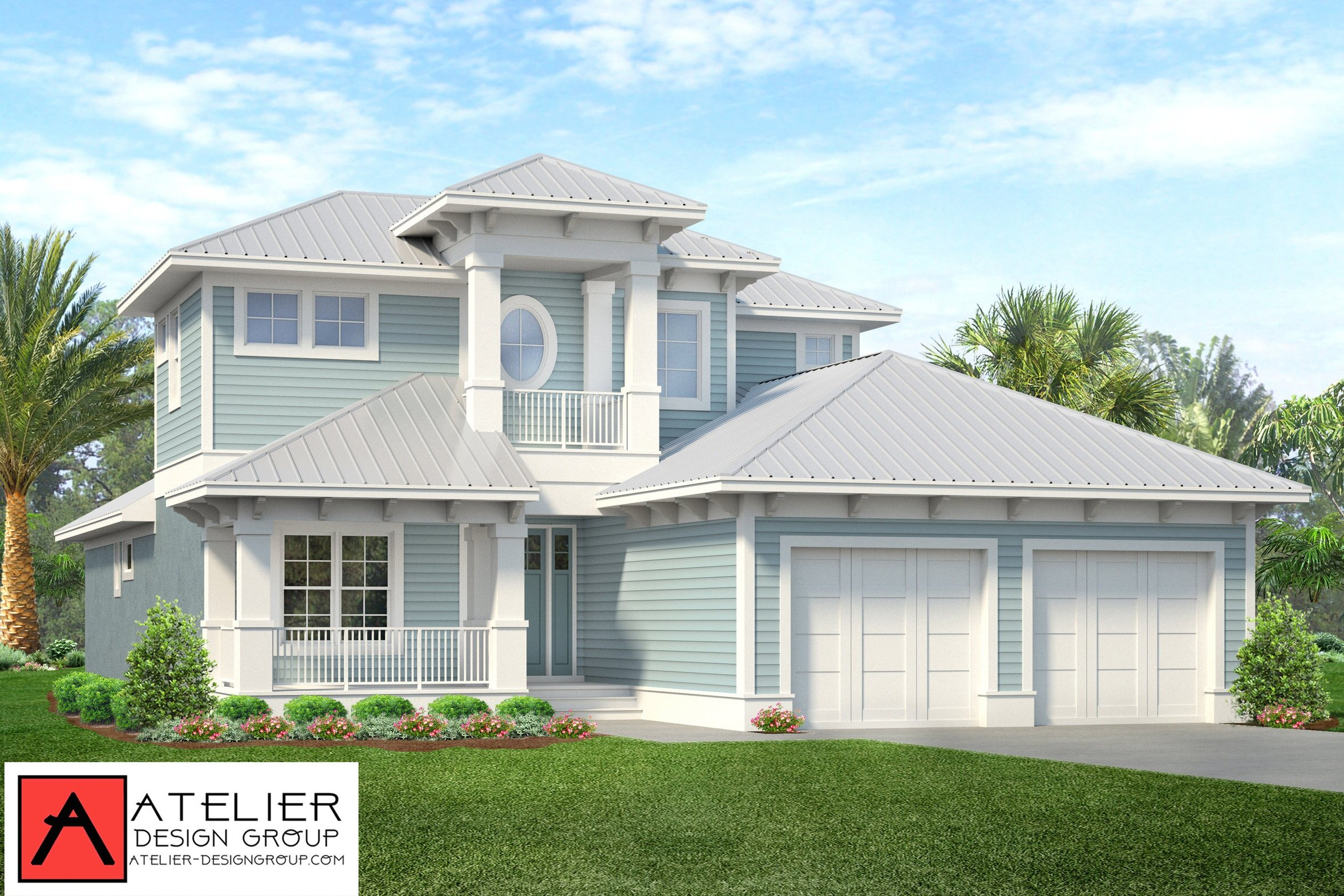 Atelier Design Group are the designers for this Classy Coastal Residence coming to the Bulow Shores - Seaside Landings area of Palm Coast, FL. We have mixed our beach style with the classical timeless design. Designed to last a life time. .In the permit process now. Construction photos to follow soon.