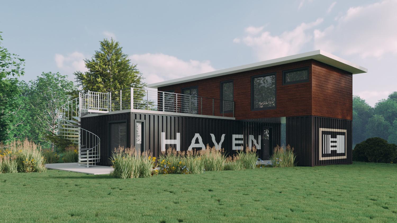 Haven Ultra Modern Eco Friendly Prefab Modular Homes By Third Generation East Coast Builders