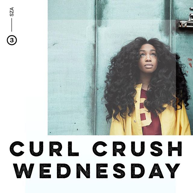 @SZA is our #CurlCrushWednesday! Aside from her airy, yet bold voice, and awesome freckles, her beautiful curls have a spotlight of their own! • Tap the 🔗 in our bio to read more!