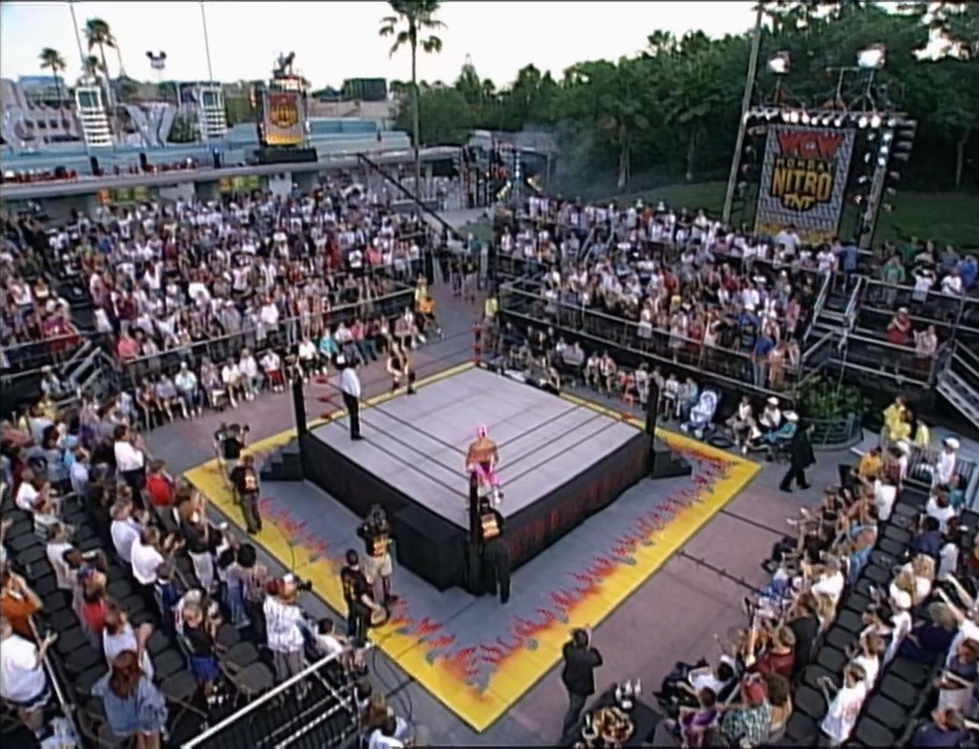 Rey Mysterio Jr. vs. Dean Malenko  WCW Cruiserweight Championship  WCW Monday NITRO, July 8th 1996