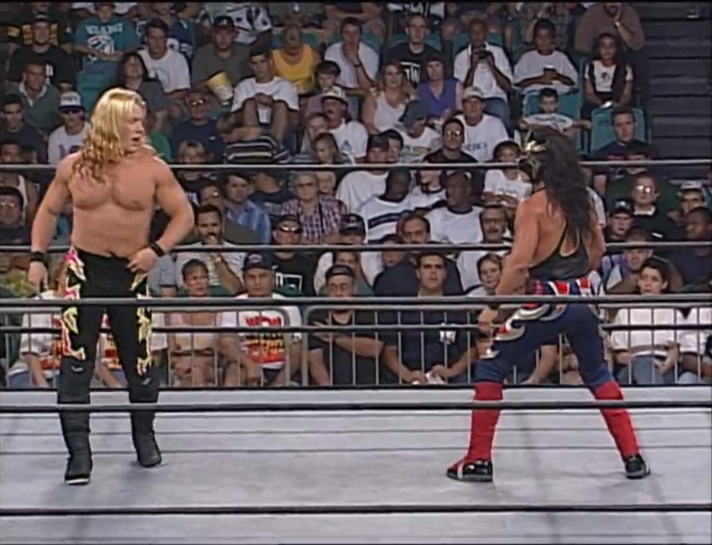 Chris Jericho vs. Juventud Guerrera WCW Cruiserweight Championship WCW Monday NITRO, June 30th 1997