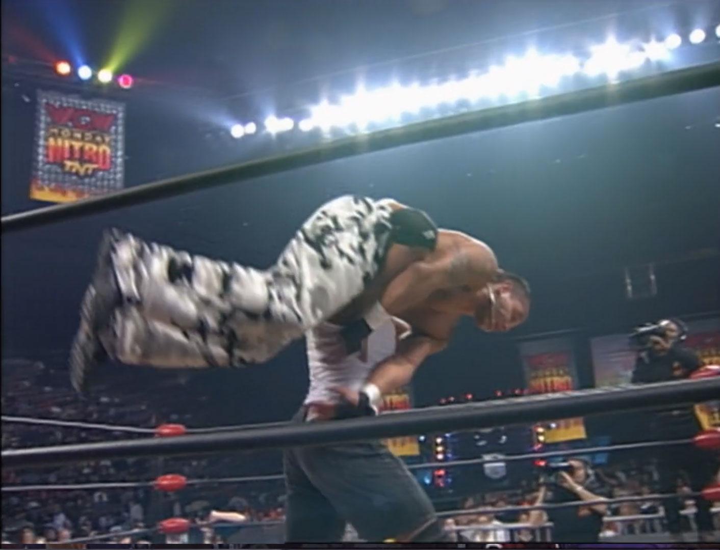 Rey Mysterio Jr. vs. Billy Kidman  WCW Cruiserweight Championship WCW Monday NITRO, March 15th 1999