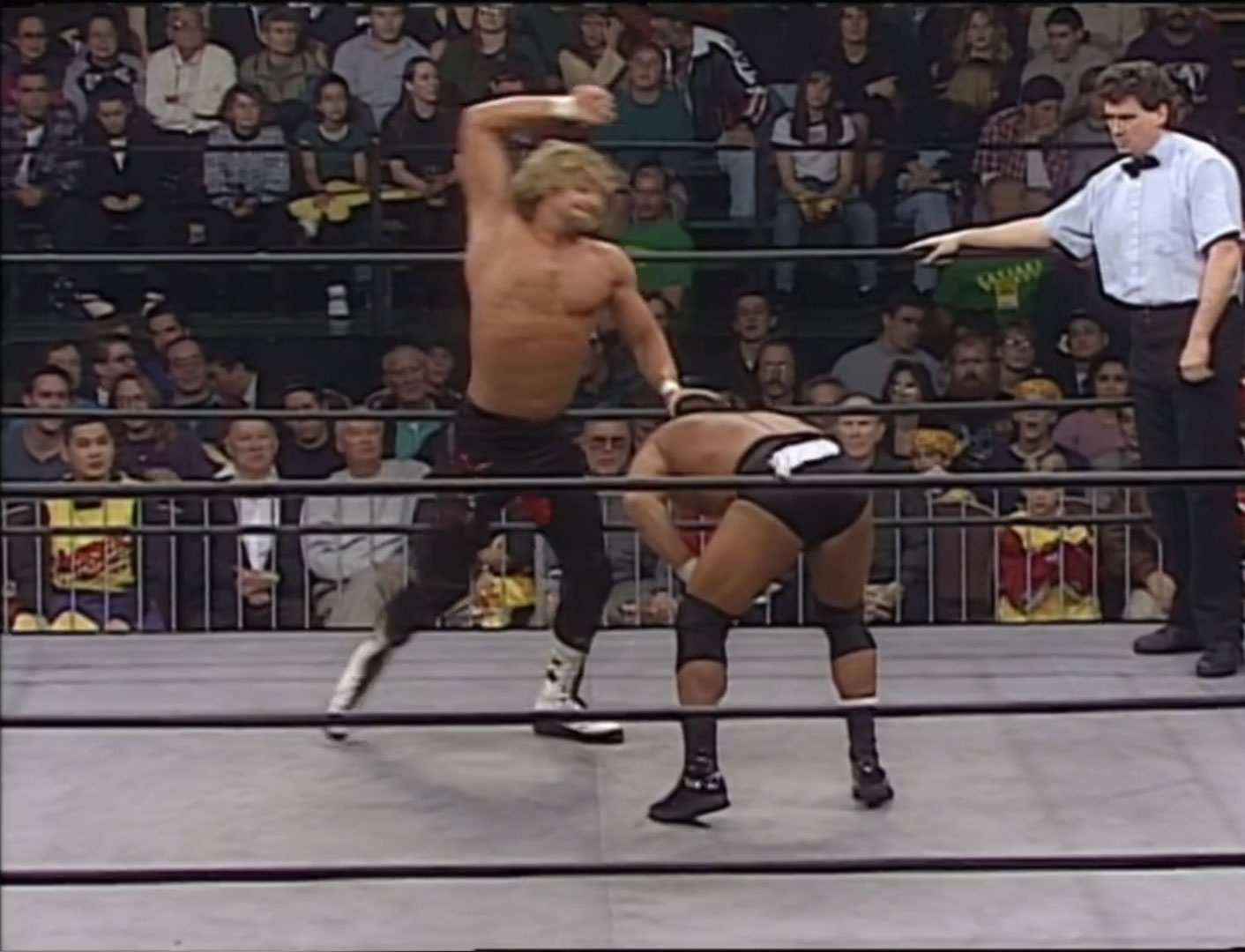 Dean Malenko vs. Brian Pillman  WCW Monday Nitro, Jan 22nd 1996