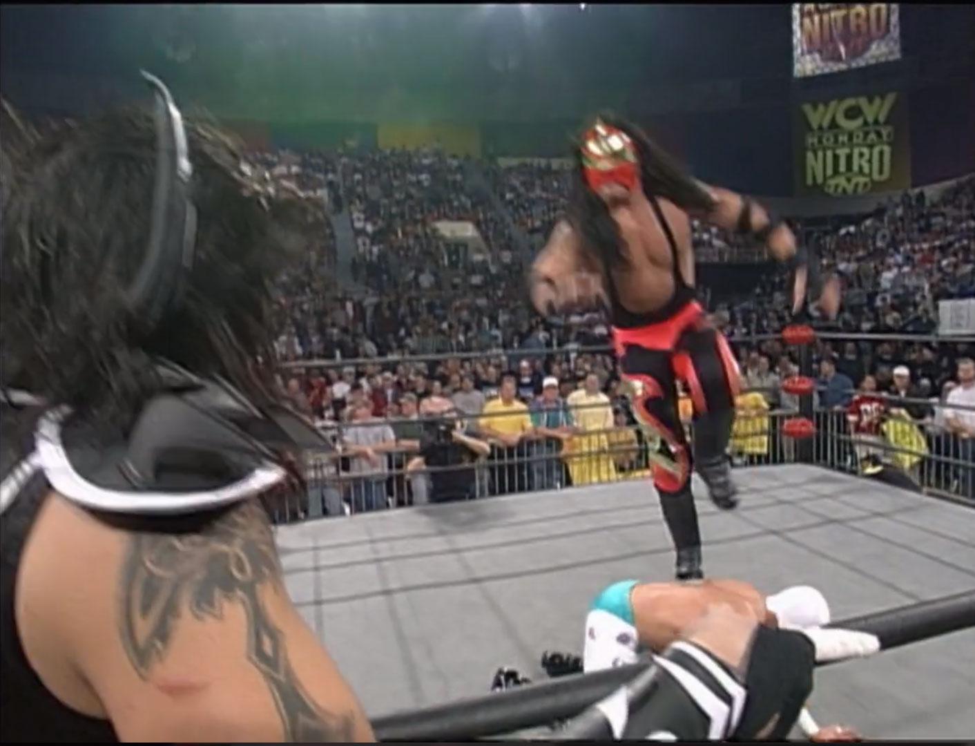 Rey Mysterio Jr. and Juventud Guerrera vs. La Parka and Psychosis WCW Monday NITRO, December 15th 1997
