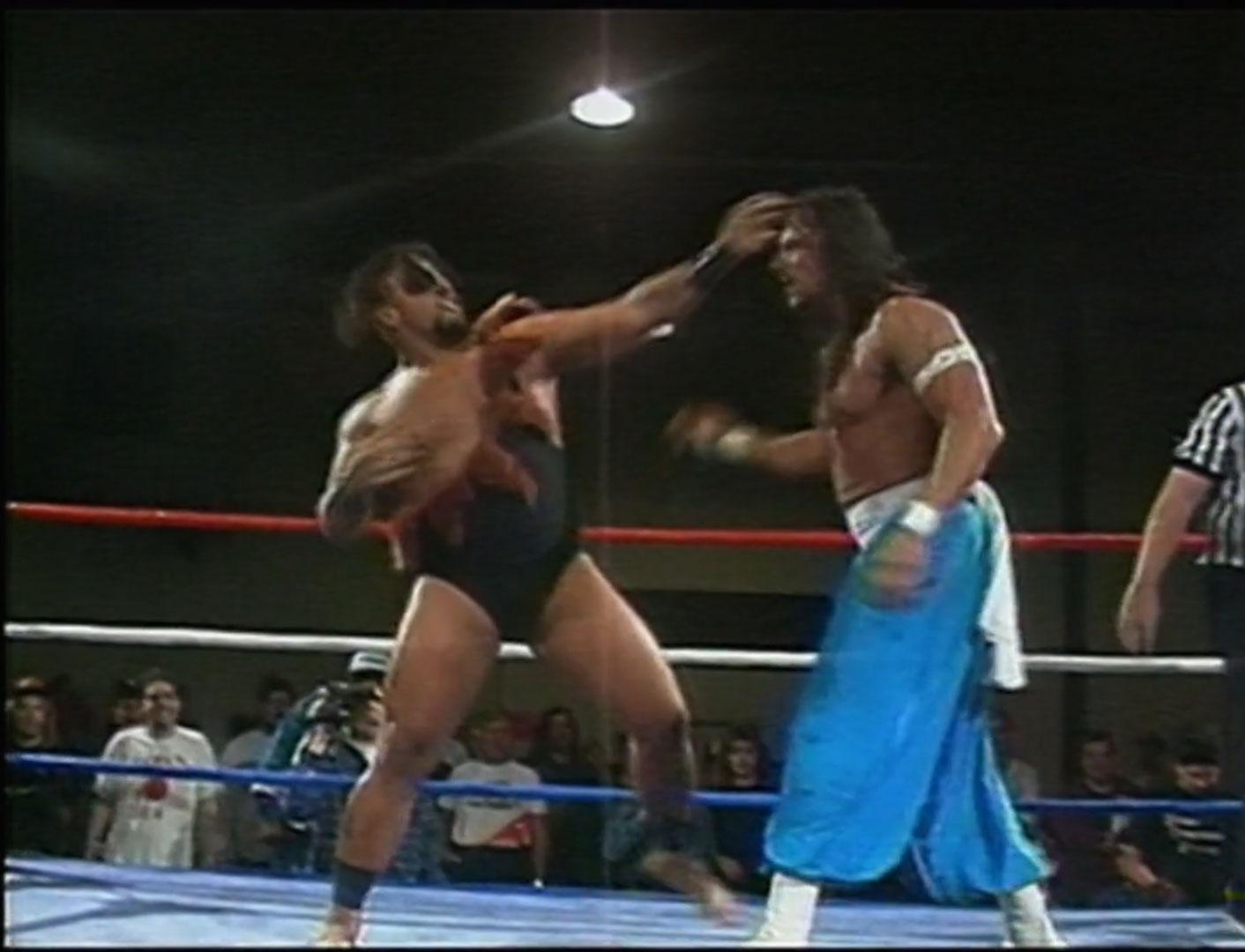 The Tazmaniac vs. Sabu  ECW Hardcore TV #26  October 5th 1993 (Recorded Oct. 1st 1993, NWA BloodFeast: Part 1)