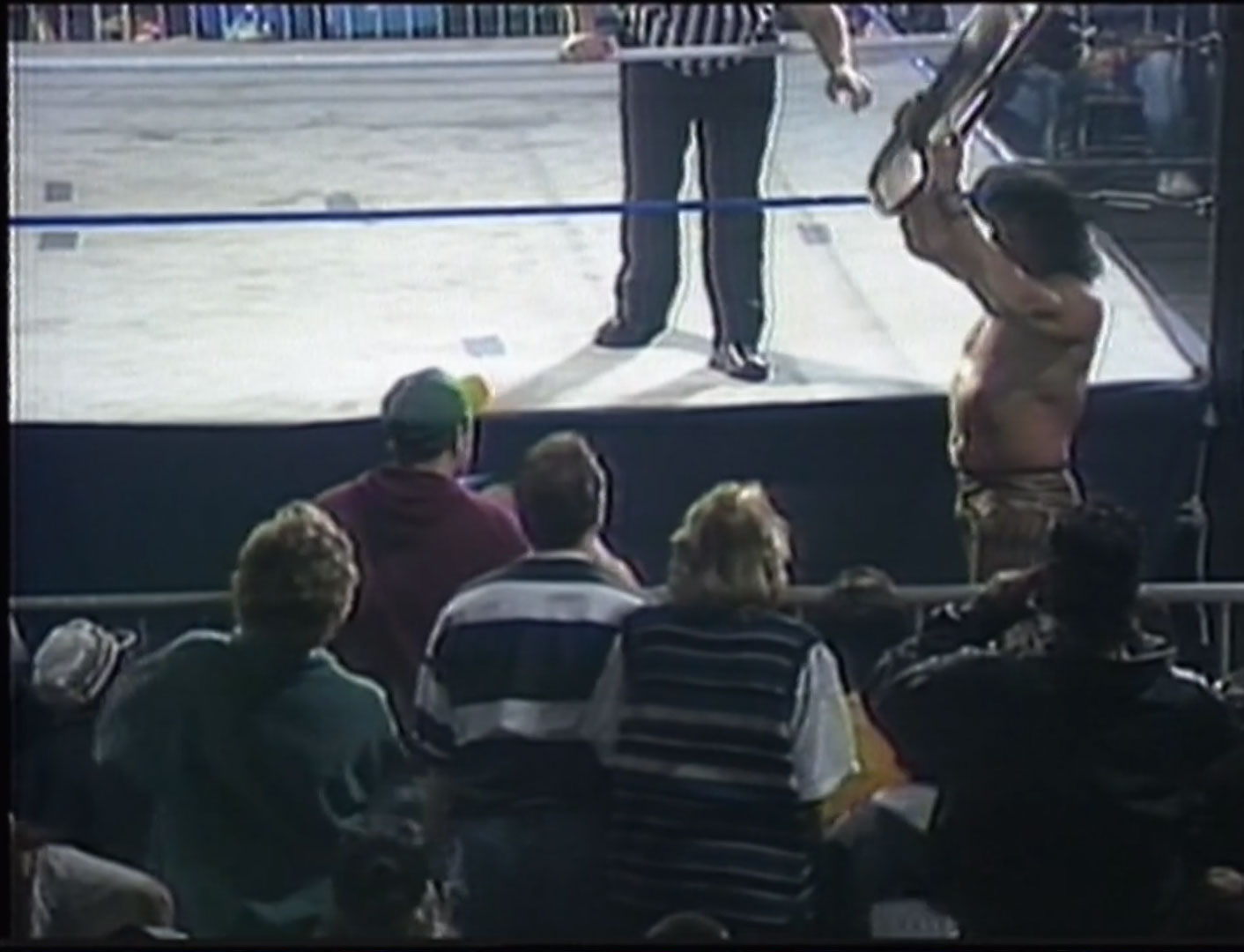 """Jimmy """"Superfly"""" Snuka vs. Tommy Dreamer  ECW Hardcore TV #43  February 8th 1994 (Recorded Feb. 5th 1994 NWA-ECW The Night the Line Was Crossed)"""