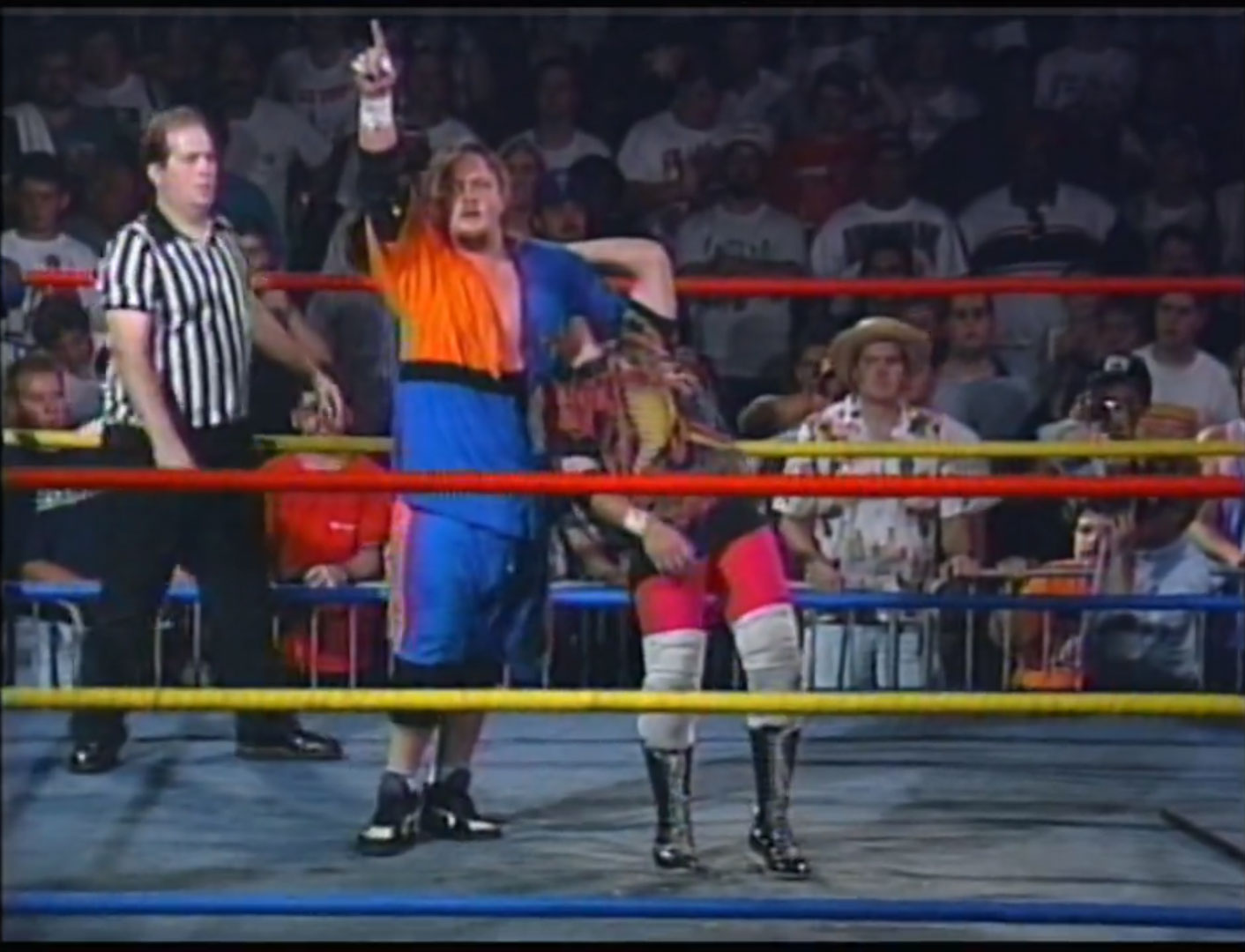 Cactus Jack & Mikey Whipwreck vs. The Public Enemy ECW Tag Team Championship ECW Hardcore TV #73 September 6th 1994 (Recorded August 27th 1994