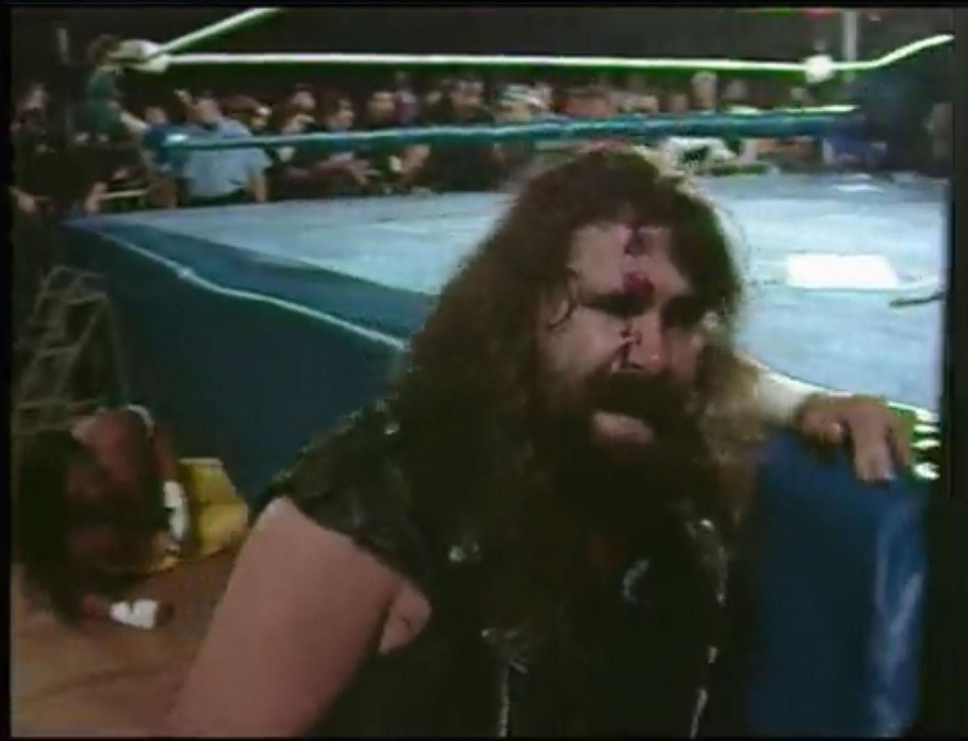 Cactus Jack vs. Sabu Grudge Match ECW Hardcore TV #78 October 18th 1994 (Recorded September 30th 1994)